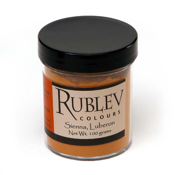 Rublev Colours Luberon Raw Sienna 100 g - Color: Brown
