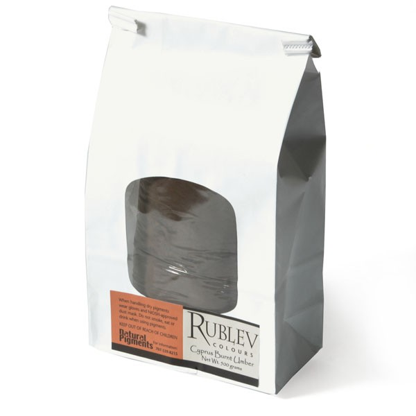Rublev Colours Rublev Colours Cyprus Burnt Umber 1 kg - Color: Brown