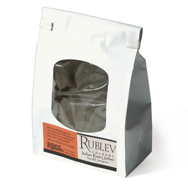 Rublev Colours Italian Raw Umber 500 g - Color: Brown