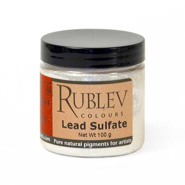 Rublev Colours Lead Sulfate 100g