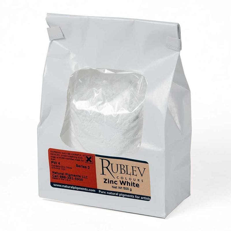 Rublev Colours Rublev Colours Zinc Oxide 5 kg - Color: White