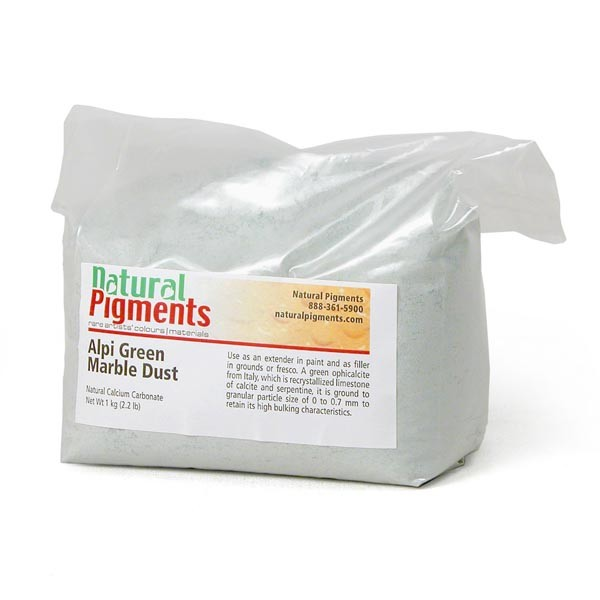 Natural Pigments Alpine Green Marble Dust 1 Kg Alpine