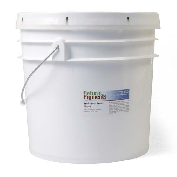 Natural Pigments Traditional Fresco Plaster 3 5 Gal