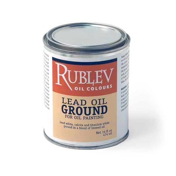 Rublev Colours Lead Oil Paste Ground (1 pint)
