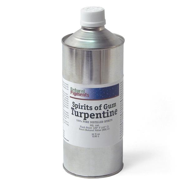 Natural Pigments Gum Turpentine 32 fl oz