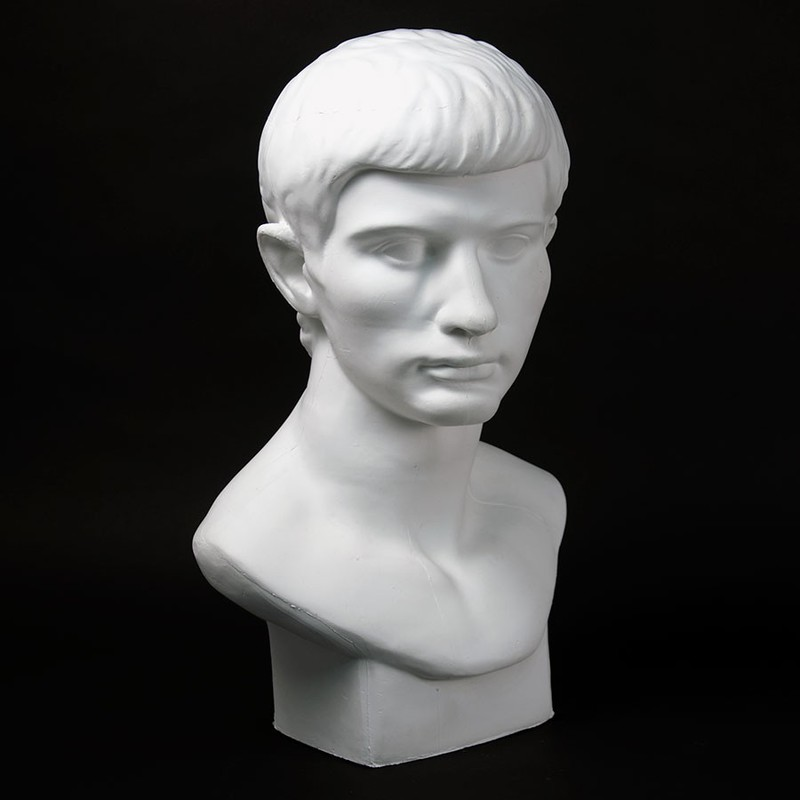 Drawing Plaster Cast Roman Youth