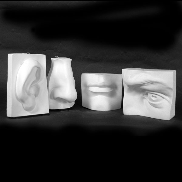 Drawing Plaster Face Set