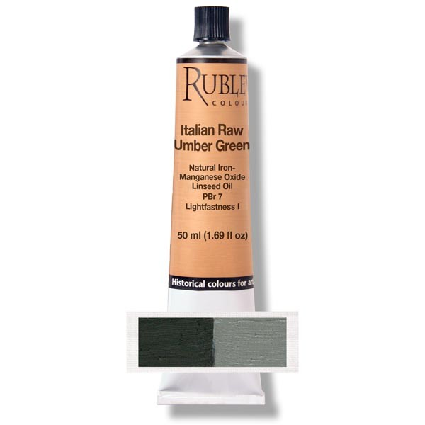 Rublev Colours Rublev Colours Italian Raw Umber Green 130 ml