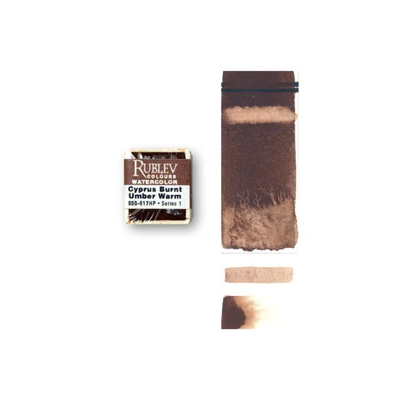 Cyprus Burnt Umber Warm (Half Pan)