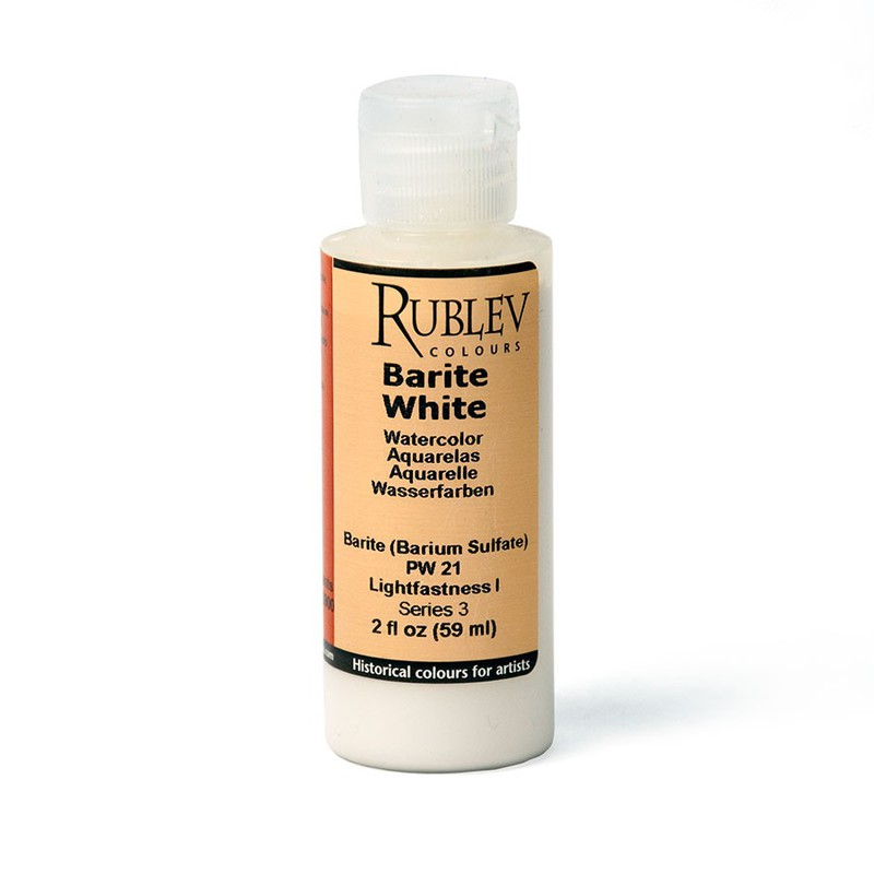 Barite White Watercolor Paint (2 fl oz)