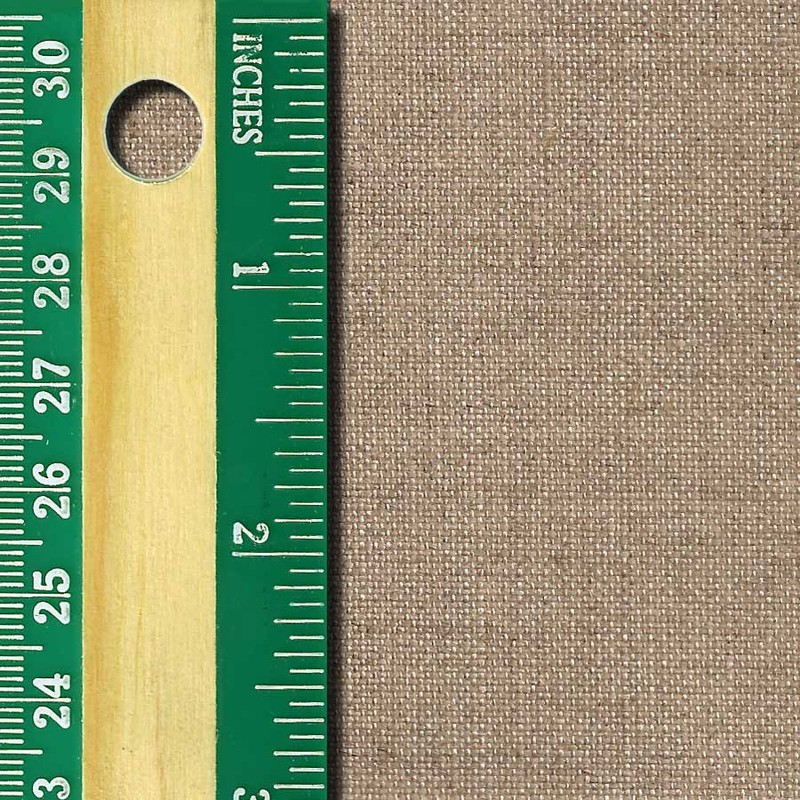 Linen Canvas Roll, Extra-Fine, unprimed side