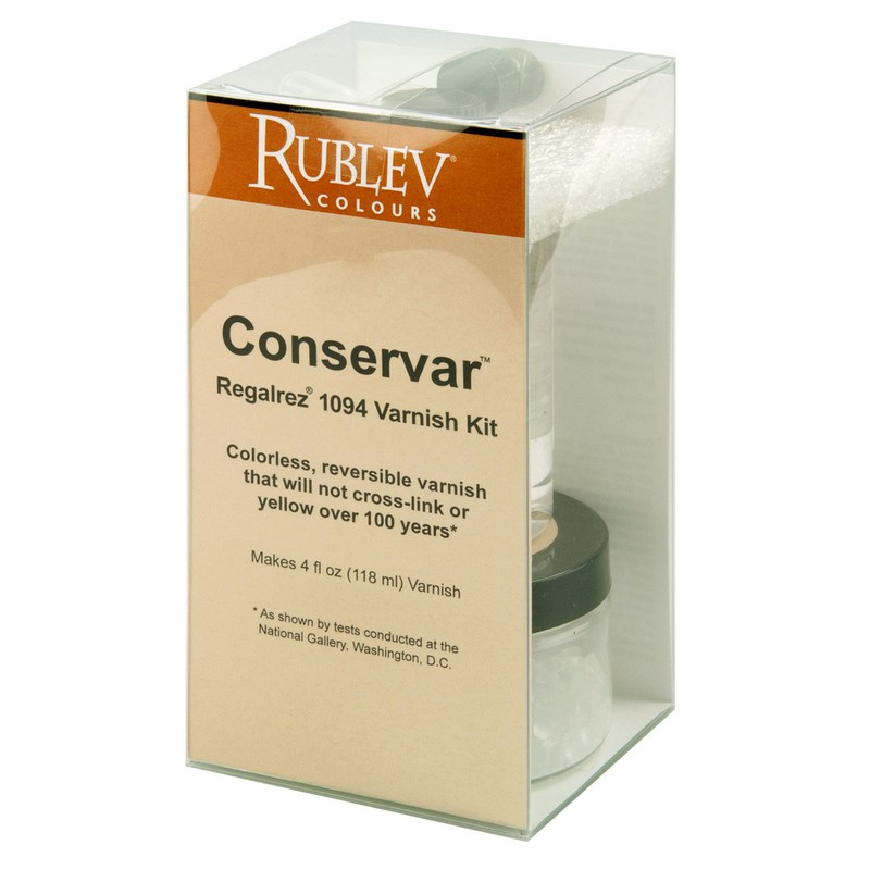 Rublev Colours Conservar Regalrez 1094 Varnish Kit