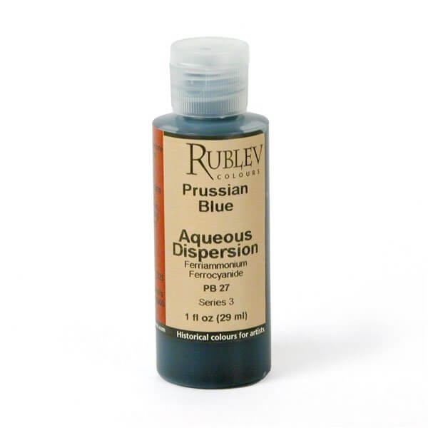 Rublev Colours Rublev Colours Prussian Blue 2 fl oz - Color: Blue