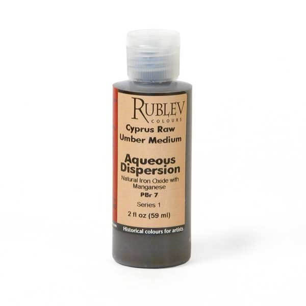 Rublev Colours Rublev Colours Cyprus Raw Umber Medium 2 fl oz - Color: Brown