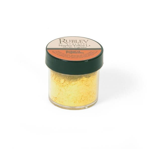Rublev Colours Rublev Colours Naples Yellow Light 50 g - Color: Yellow