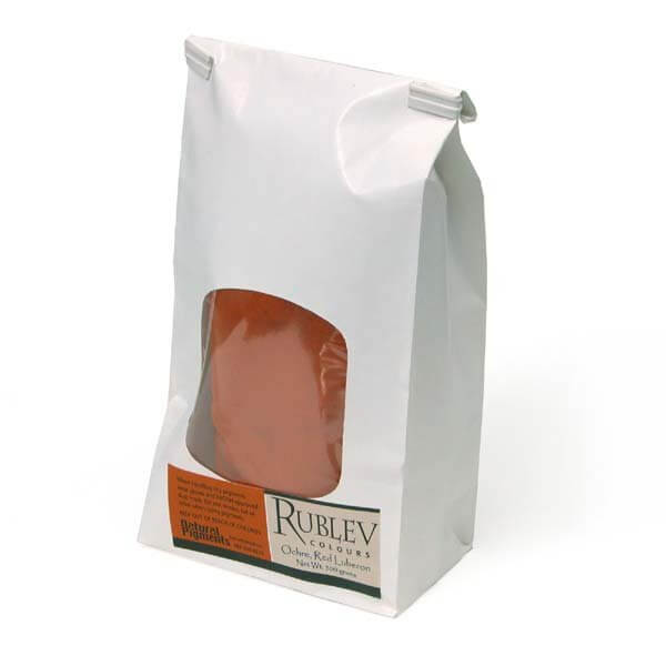 Natural Pigments Luberon Red Ocher RFLES 500 g - Color: Red