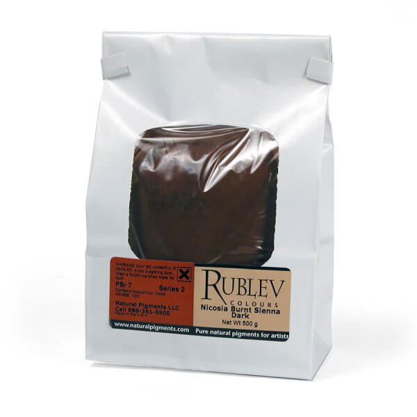Rublev Colours Rublev Colours Nicosia Burnt Sienna Dark 500 g - Color: Brown