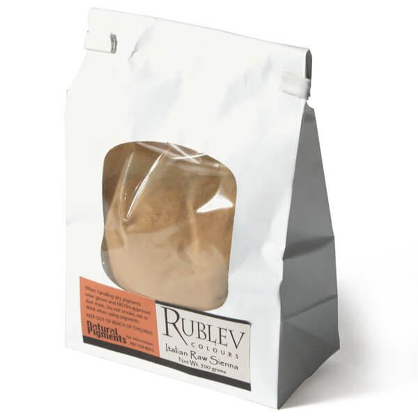 Rublev Colours Rublev Colours Italian Raw Sienna 1 kg - Color: Brown