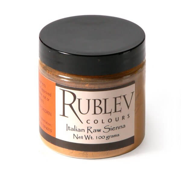 Rublev Colours Rublev Colours Italian Raw Sienna 100 g - Color: Brown