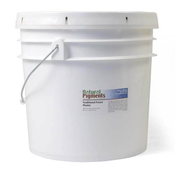 Natural Pigments Traditional Fresco Plaster 3.5 gal