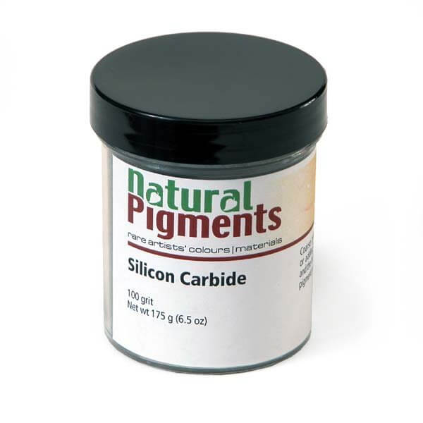Natural Pigments Silicon Carbide (100 grit) 100g