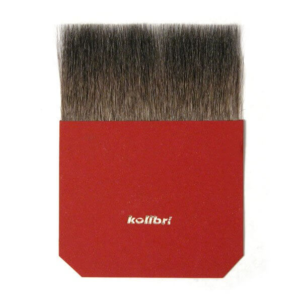 Kolibri Natural Pigments Square Gilders Tip 100 mm - Hair Width: 100 mm (3.93 in.); Hair Length: 50 mm (1.875 in.)