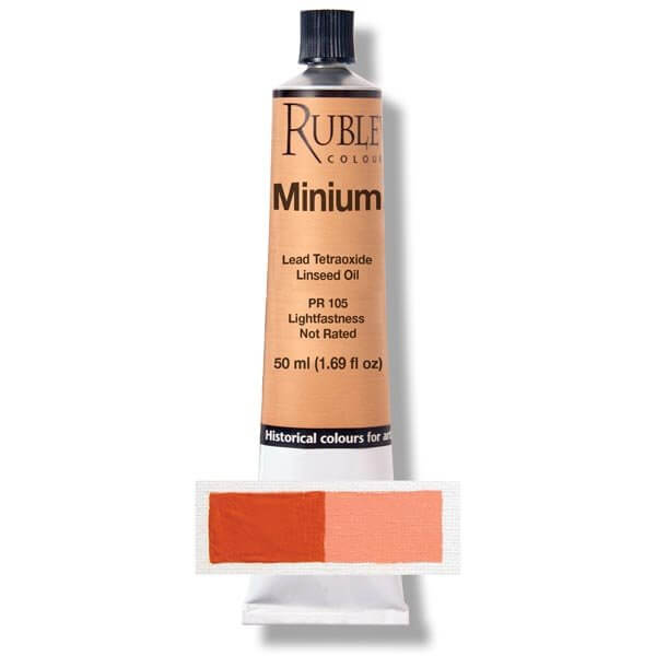 Natural Pigments Minium 50ml