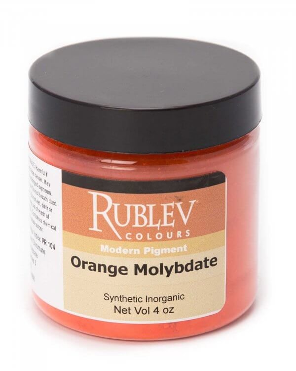 Rublev Colours Rublev Colours Orange Molybdate 100 g - Color: Orange