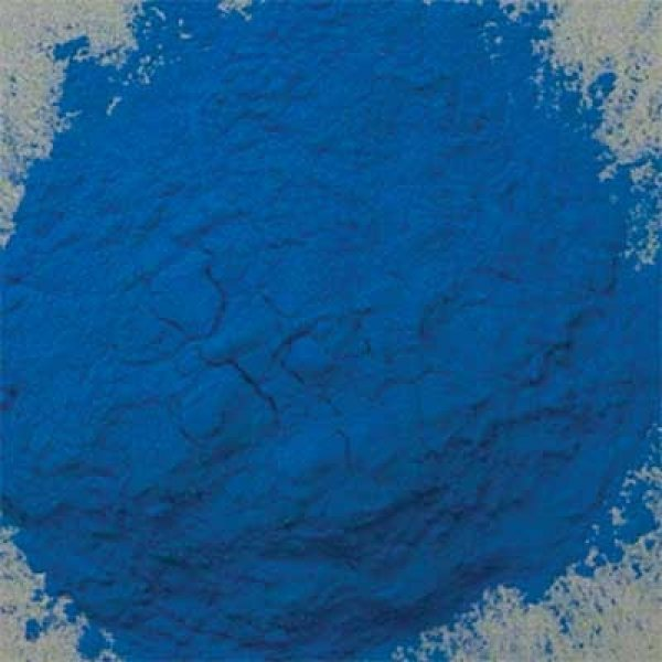 Natural Pigments Blue Verditer 50 g - Color: Blue