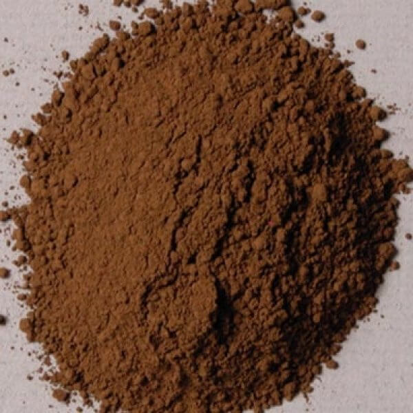 Rublev Colours Luberon Raw Umber 500 g - Color: Brown