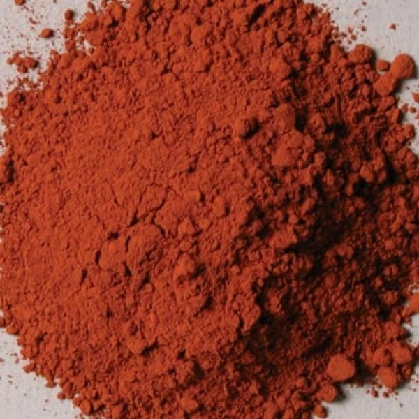 Natural Pigments Rublev Colours Italian Burnt Sienna 1 kg - Color: Brown