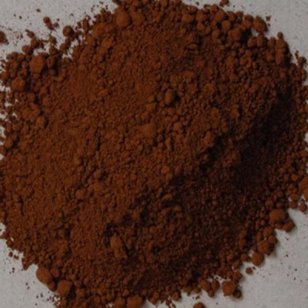 Natural Pigments Rublev Colours Cyprus Raw Umber Medium 1 kg - Color: Brown