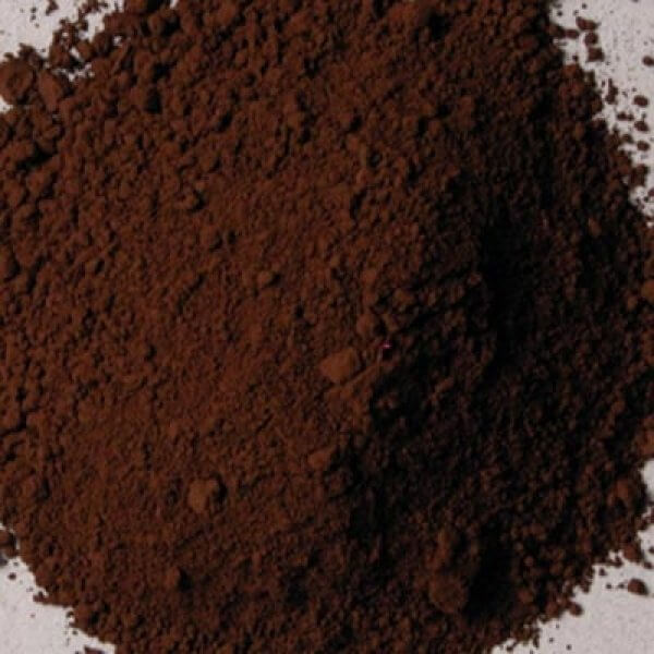 Natural Pigments Rublev Colours Cyprus Burnt Umber 1 kg - Color: Brown