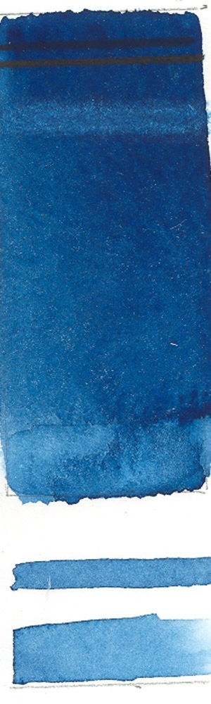 Rublev Colours Rublev Colours Prussian Blue (Half Pan) - Color: Blue