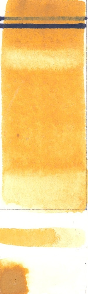 Rublev Colours Italian Yellow Earth (Half Pan) - Color: Yellow