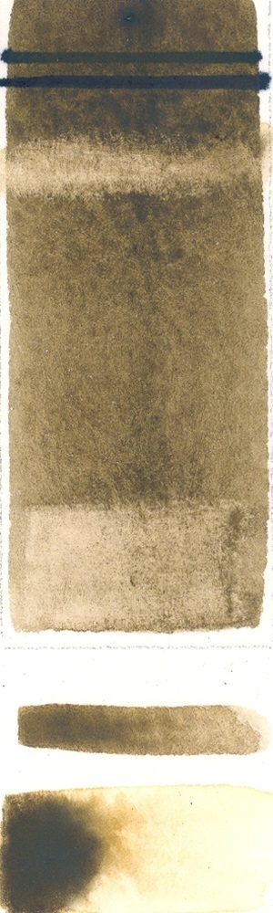 Rublev Colours French Raw Umber (Half Pan) - Color: Brown