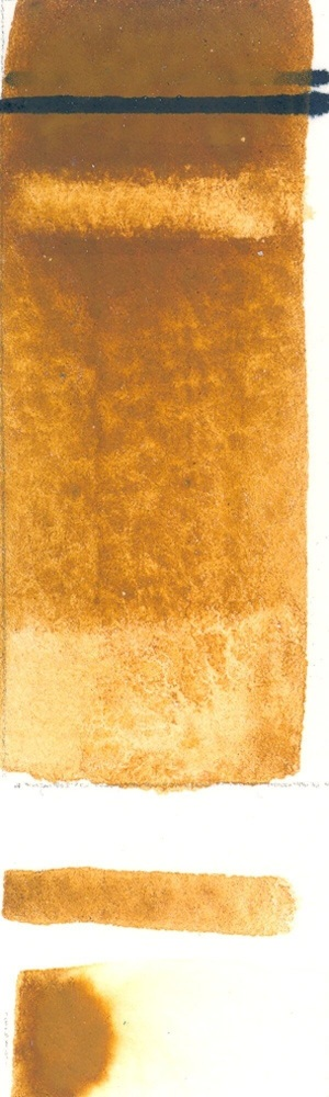 Rublev Colours Italian Raw Sienna (Half Pan) - Color: Brown
