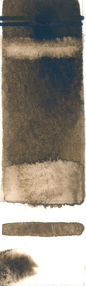 Rublev Colours Cyprus Raw Umber Dark (Full Pan) - Color: Brown