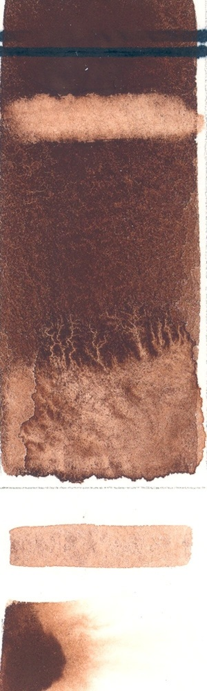 Rublev Colours Cyprus Burnt Umber Warm (Half Pan) - Color: Brown