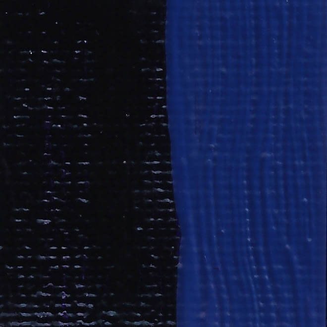 Rublev Colours Rublev Colours Prussian Blue (MIlori Blue) 50 ml - Color: Blue