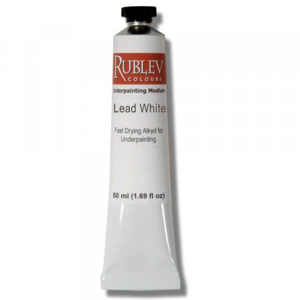 Rublev Colours Underpainting Lead White (50ml)