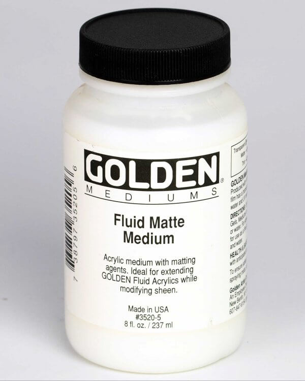 No Fluid Matte Medium 8 fl oz
