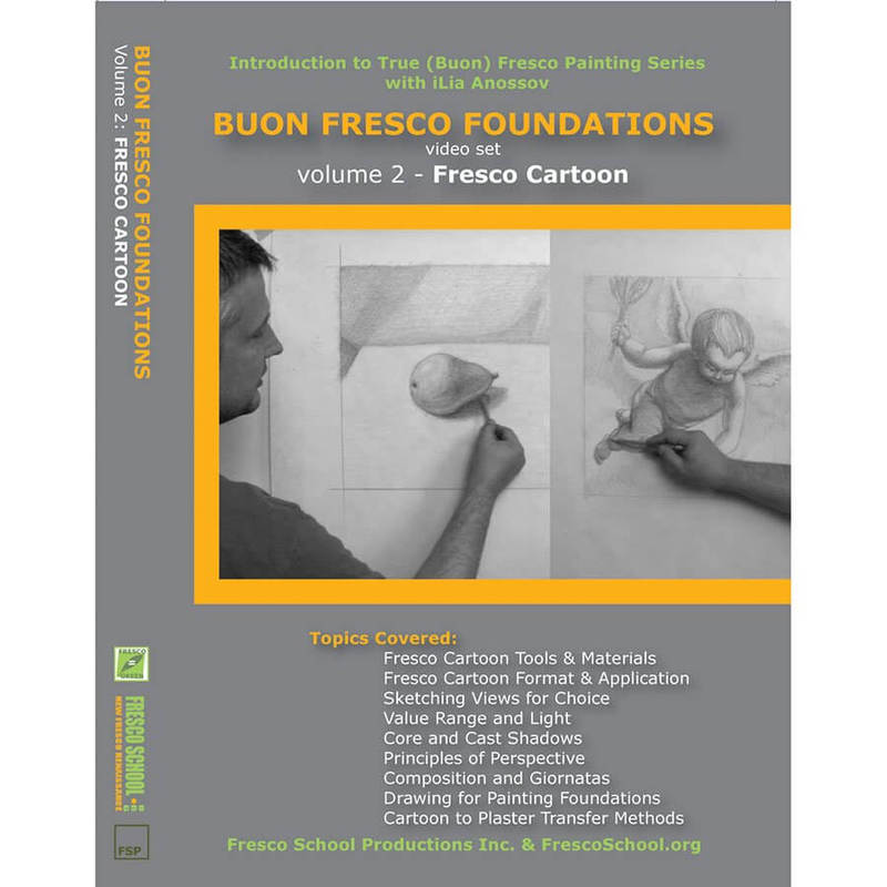 Fresco School Natural Pigments Buon Fresco Foundations DVD Vol. 2