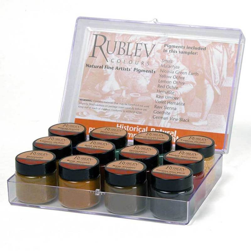 Natural Pigments Historical Pigment Sampler