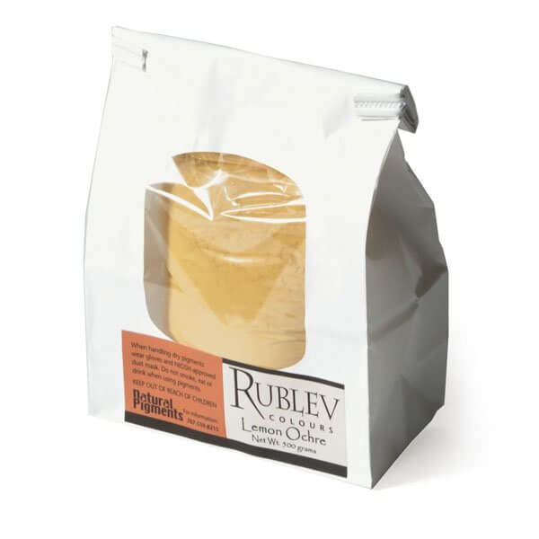 Rublev Colours Lemon Ocher 500g
