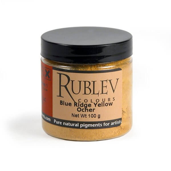 Rublev Colours Rublev Colours Blue Ridge Yellow Ocher 100 g - Color: Yellow