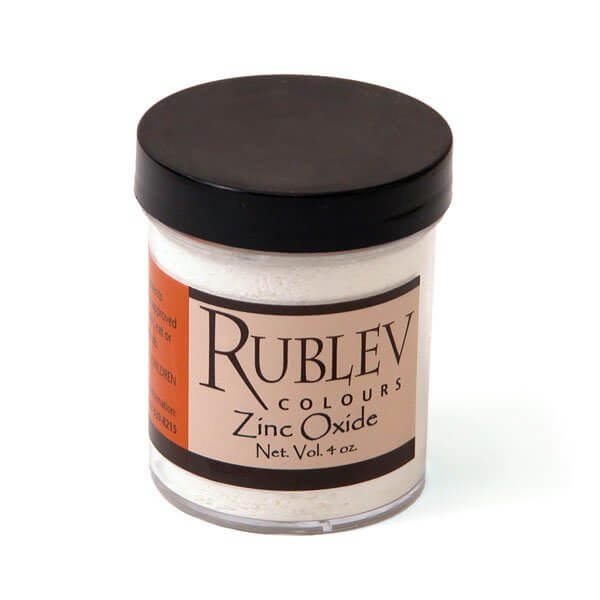 Rublev Colours Rublev Colours Zinc Oxide 100 g - Color: White