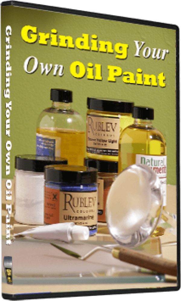 On Air Video Grinding Your Own Oil Paint