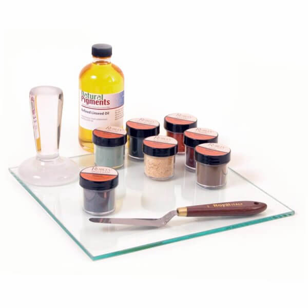 Natural Pigments Oil Paint Making Kit