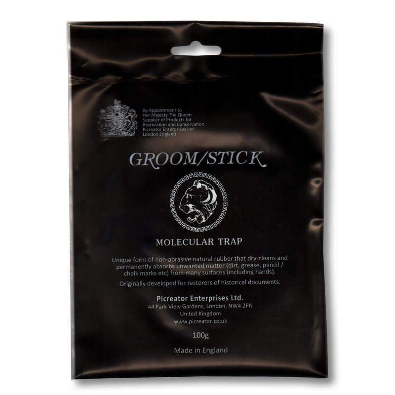 Groom / Stick Natural Rubber Cleaner